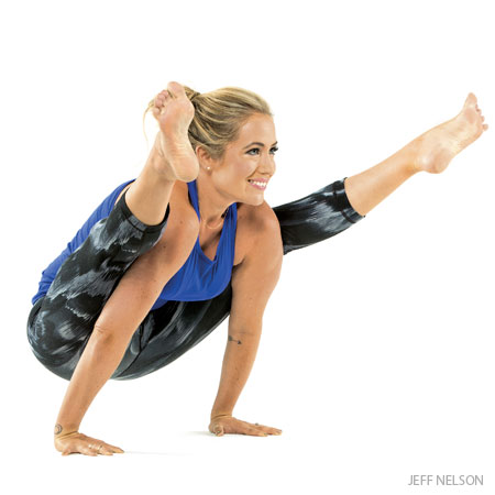 learn the yoga arm balancing poses  yoga burn review